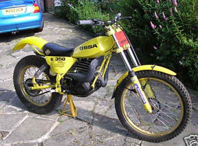 ossa motorcycle vintage pics