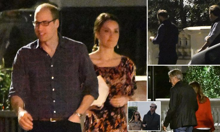 The Duke and Duchess of Cambridge met David Matthews and Jane Parker at a dinner party at fiance James Matthews' home in Kensington. James Middleton and Spencer Matthews were also there.
