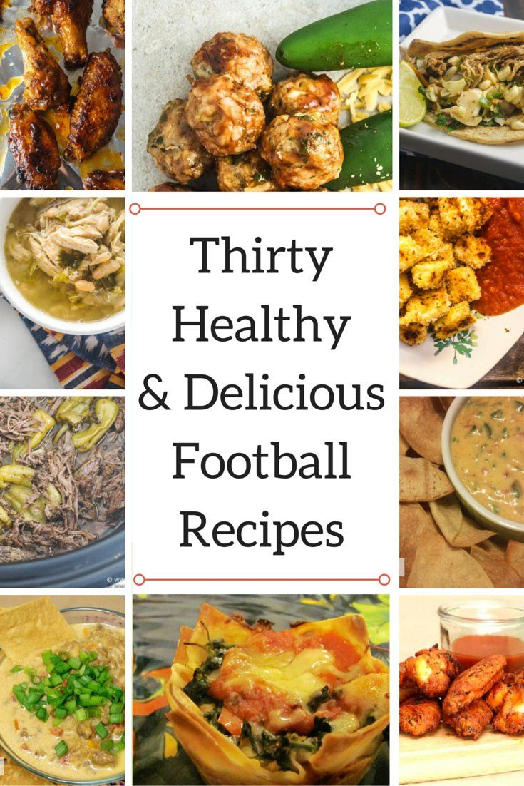 Friday Five: Favorite Healthy Football Food - Slender Kitchen