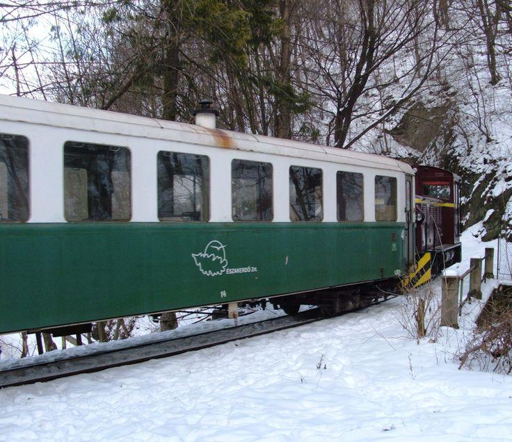 Téli kisvasút :-) / The forest train in winter Fotó: Kupcsik Sarolta