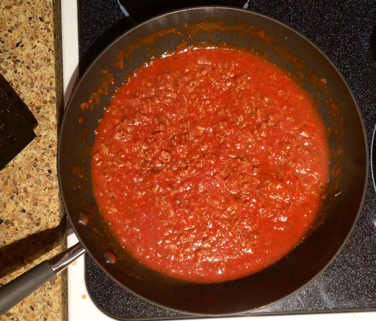 Wildtree Spaghetti Sauce * 1lb ground beef * 1/2 onion, chopped * 28oz ...