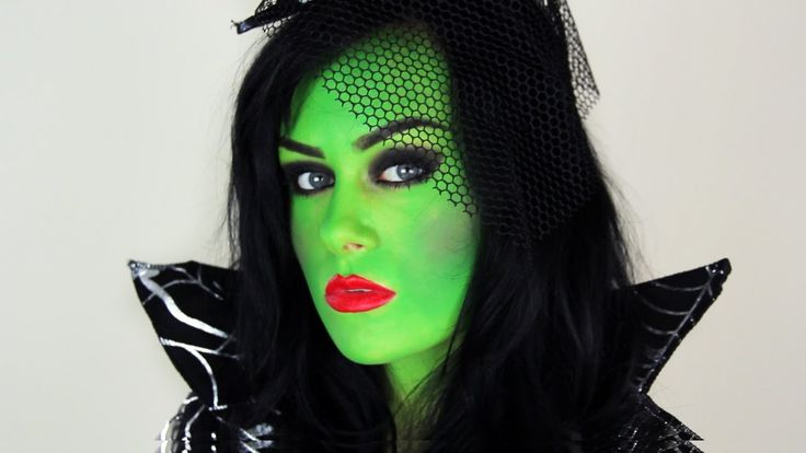 Witch Makeup -- Sexy Witch Makeup Tutorial for Halloween