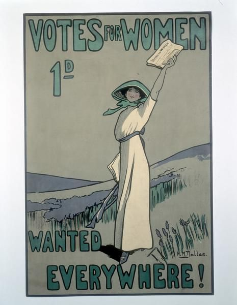 Votes for Women Poster: The Women, Dust Jackets, Books Jackets, Picture-Black Posters, Vote, Dallas, Woman, Fashion Art, Dust Covers