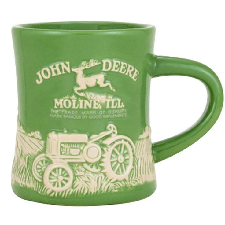 John Deere Model D Green Mug