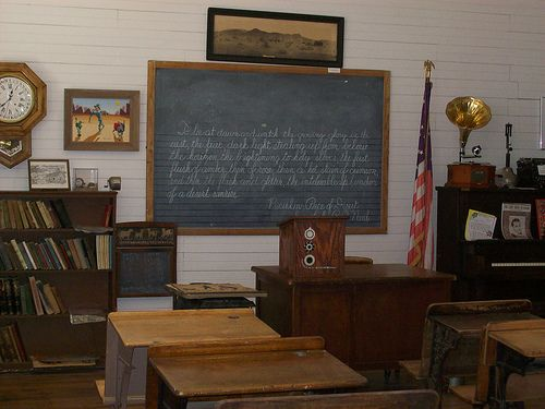 old school room | Old School Days