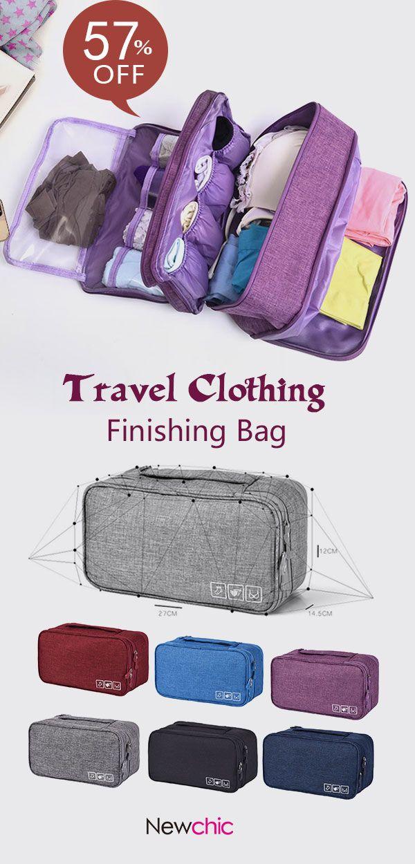 61b665d2f308 US$ 9.99】Travel Clothing Finishing Bag Travel Clothes Underwear Bra ...