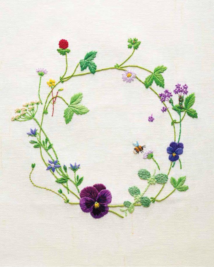 """Stitching through the Seasons of a Flower Garden,"""" by Kazuko Aoki ..."""