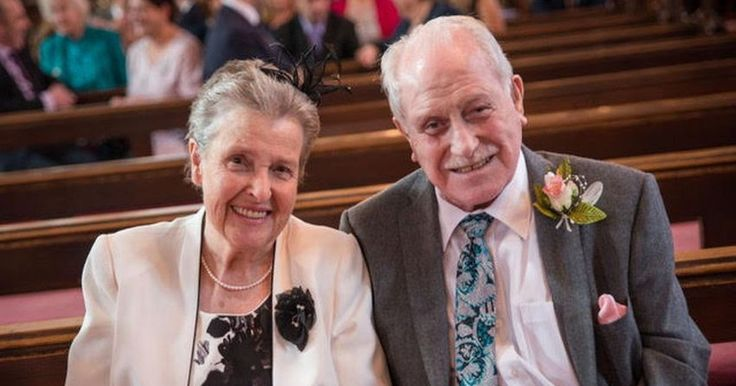 A Southport couple are celebrating their diamond wedding anniversary