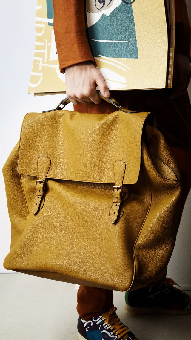 Burberry ~ Prorsum Summer Satchel for Men 2015