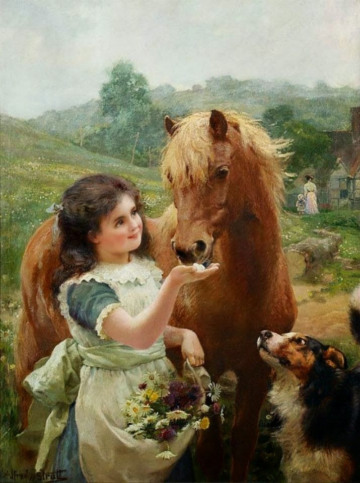 Victorian British Painting: Alfred William Strutt