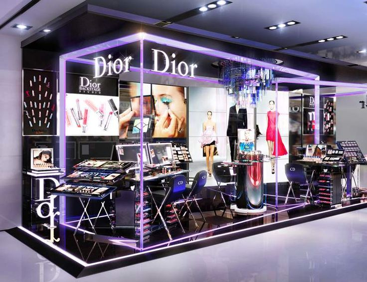 Expo Stands Eyeshadow : Dior makes news with pop up stores beautyo
