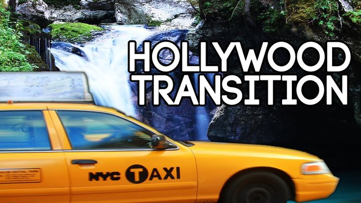 Sony Vegas Tutorials - Sony Vegas Pro 12 - Taxi Transition Hollywood Eff...
