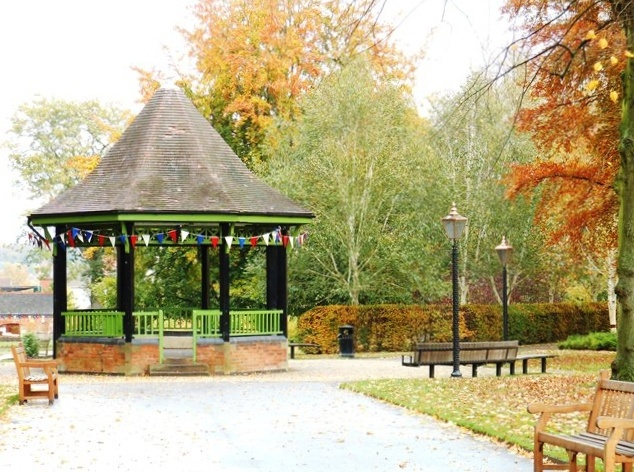 The Band Stand, Caldecott, Park, Rugby