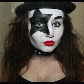 1462 Best Girls In KISS Makeup Images On Pinterest