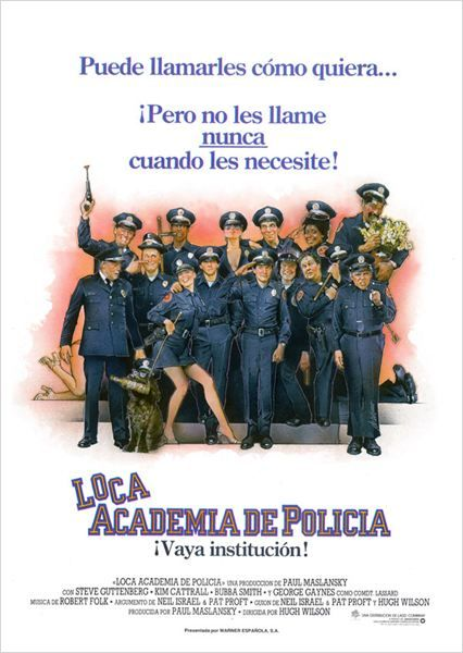 CINELODEON.COM: Loca academia de policía. Hugh Wilson.