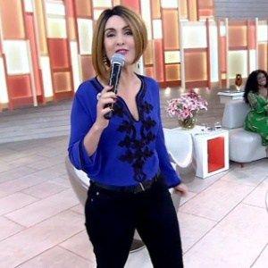 """Fátima Bernardes """"troca de cabelos"""" no """"Encontro"""" #FátimaBernardes, #Globo, #Novo http://popzone.tv/2016/06/fatima-bernardes-troca-de-cabelos-no-encontro.html"""