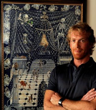 danie mellor artist   Danie Mellor wins Telstra Aboriginal Art Award