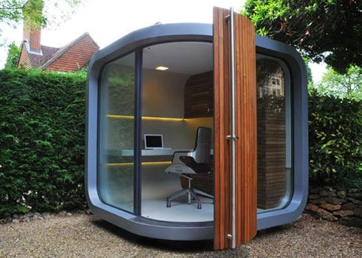 garden office pod. cutting down on work stress with a garden office productive entrepreneur pod