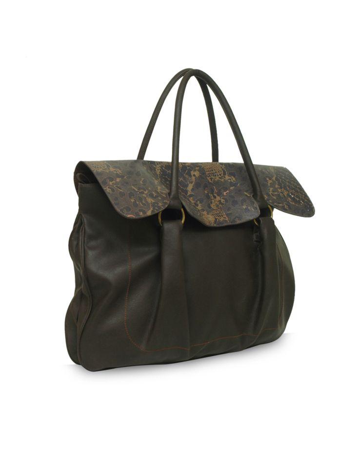 Smoothy Lisa Brown - A versatile brown bag by Baggit