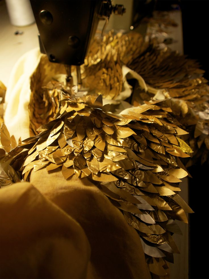 More stitching!! (Upcycled Nespresso capsules) www.mucke.com.au