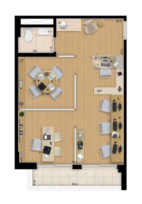 Pin By Tp On Vigas Office Floor Plan Office Layout Plan Small Office Design