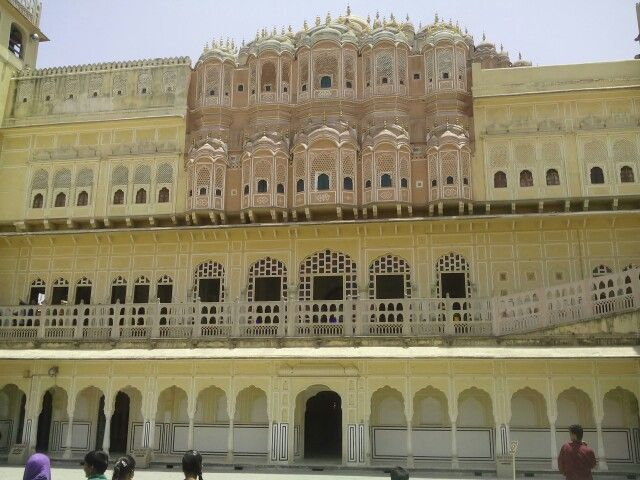 Hawa mahal.one of the best creation by rajputs king