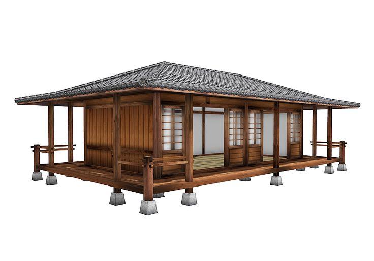 Prefab japanese bungalow deco architecture pinterest for Japanese bungalow house design