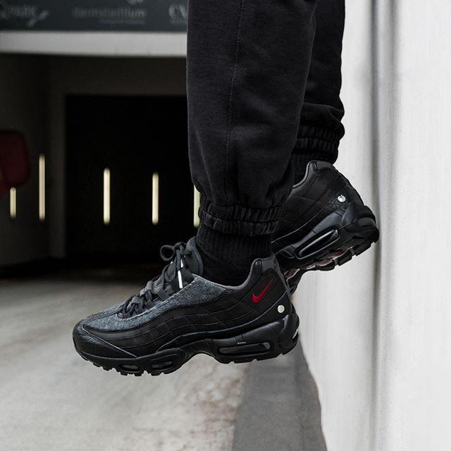4f010526af0b90 Nike Air Max 95 NRG (Black   Team Red - Anthracite) in 2019