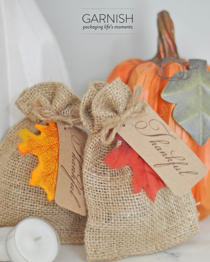 burlap bags for candy bar?