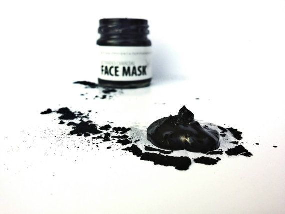 Activated Charcoal Facial Mask Detox Mask by TheBEEKEEPERshop