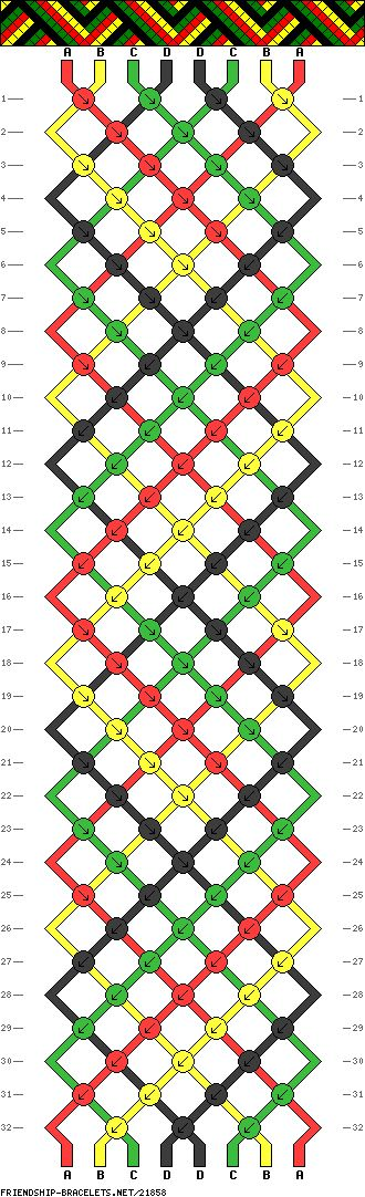 8 Strings, 4 Colors