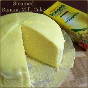 My Mind Patch: Steamed Banana Milk Cake 蒸香蕉牛奶蛋糕