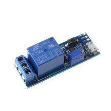 Smart Electronics 5 В-30 В Micro USB Мощность Регулируемая Задержка Релейный Модуль Управления Таймер Переключатель Задержки Запуска //Цена: $1 руб. & Бесплатная доставка //  #electronics #гаджеты