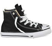 Zwarte Converse kinderschoenen All Star Hi gympen