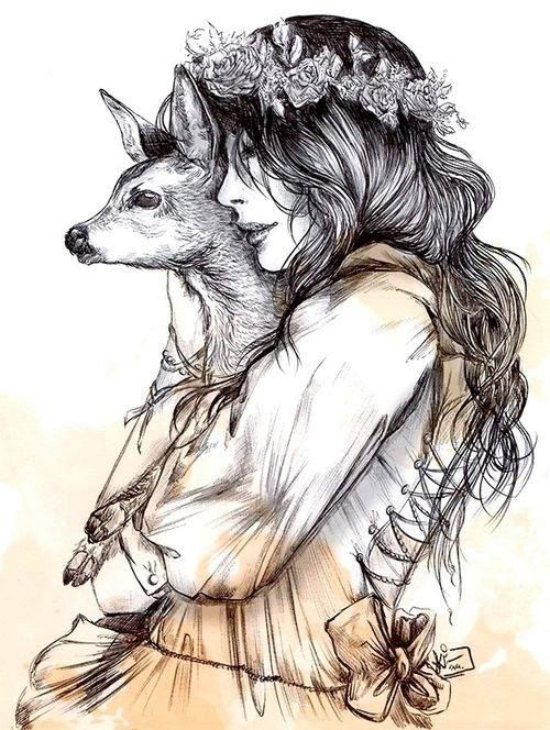 Tattoo idea only with a fox :)