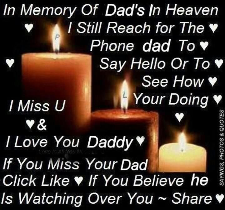 Missing Love Memories Images: In Memory Of My Dad I Miss You Quotes. QuotesGram