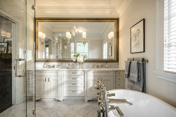 Espejos vintage de estilo romántico - más de 30 diseños ...