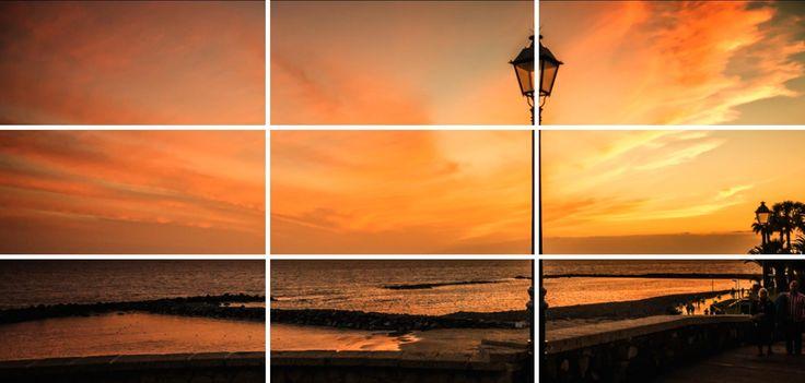 Der Goldene Schnitt oder die Drittel Regel sind einfache Regeln zur Bildgestaltung. Achtest du auf diese Regeln, dann wirken deinen Bilder interessanter.