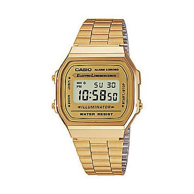 Orologio da polso Casio Collection Vintage Digitale Unisex A168WG-9EF