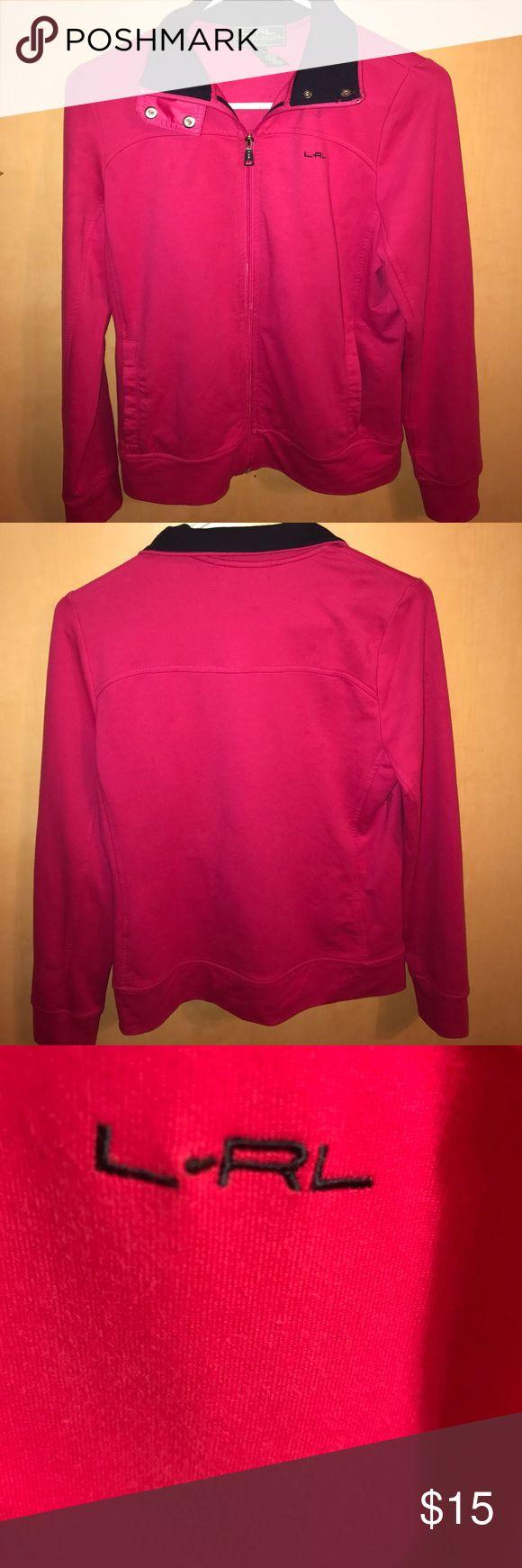 Ralph Lauren petites activewear pm pink and black Ralph Lauren activewear black and pink Lauren Ralph Lauren Jackets & Coats