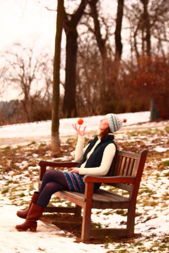 lovely warm cozy hat by POTSandKNITS on Etsy