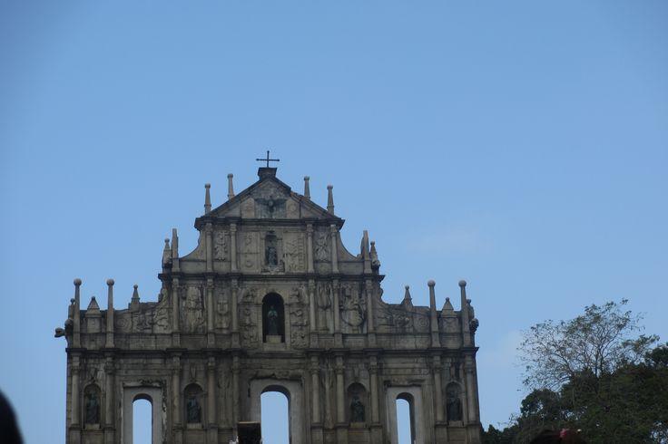 Ruins of St. Paul church, Macau.. Dec 2015