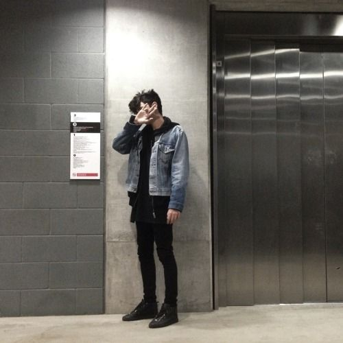 fashion // clothing // grunge // androgynous