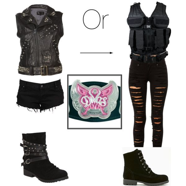 """If The Shield Had A Diva I'd Be Her"" by tataya on Polyvore"