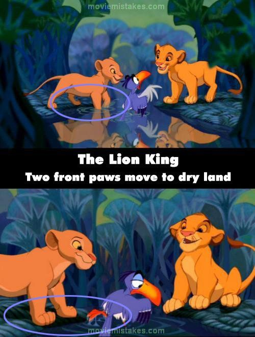 the lion king story with pictures pdf
