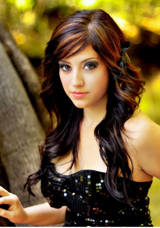teen girls long hairstyle  2010 teen hairstyles picture png