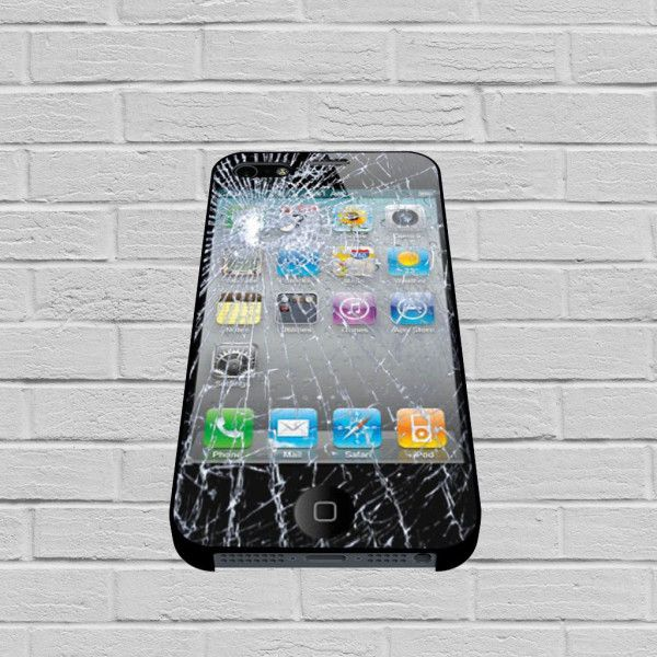 Cracked Screen Glass case for iPhone, iPod, Samsung Galaxy, HTC One, Nexus #iphone  #iphonecase  #case  #hardcase  #plastic  #samsunggalaxycase  #gadget  #phonecell  #celluler
