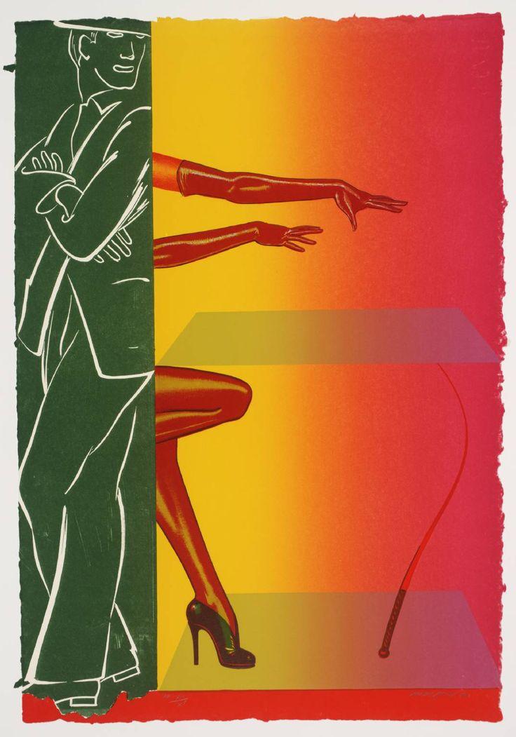 Allen Jones 'VI', 1976 - Lithograph on paper © Allen Jones