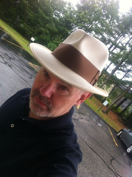 Lawless style fedora. Another client in his Powell fedora.: High Crowns, Powell Fedora, Lawless Style