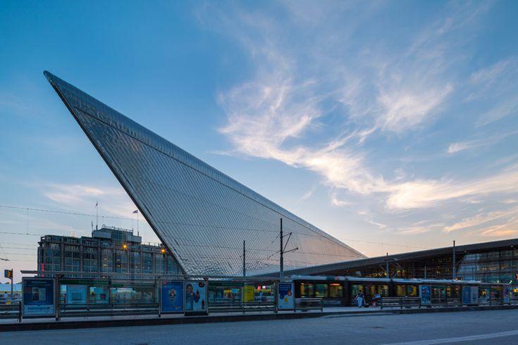 Inside Rotterdam's Super-Efficient New Train Terminal